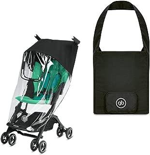 gb travel pack // Pockit & Pockit + travel bag black & raincover neutral