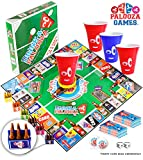 "THE ULTIMATE PARTY BOARD GAME! The only game to combine all the ""old-school"" & ""new-school"" game night games into one! If you like PONG, KINGS CUP, FLIP CUP, QUARTERS and all the BEST ADULT GAMES; then you will love the DRINK-A-PALOOZA board game. Dr..."