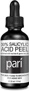 SALICYLIC ACID PEEL 30%, Clear Gel Chemical Peel Enhanced with Tea Tree Oil & Green Tea Extract 30 ml.