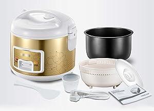 Elektrische rijstkoker huishouden 4L slimme rijstkoker hoge vuurkracht 650W non-stick innerlijke pot soep pot kan worden g...