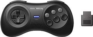 8Bitdo M30 2.4G Wireless Gamepad for the Original Sega Genesis and Sega Mega Drive - Sega Genesis,Black