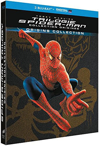 Trilogie 2 + Spider-Man 3 [Collection Origines Blu-Ray Bonus + Digital Ultraviolet]