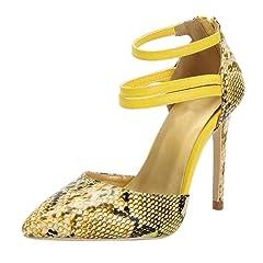 ba5240c31e3f0 Women Crystal Studded Handmade Pointed Toe High Heel pumps - Casual ...