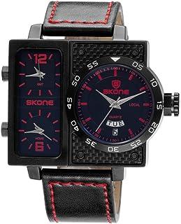 SKONE Sport Quartz Watch 3ATM Water-resistant Watch Men Wristwatches Male Relogio Musculino Calendar