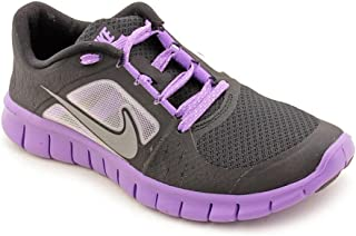 Nike Free Run 3 Black Iris Reflect Silver Big Kids GS Running (GS)