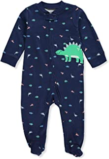 Carter's Baby Boys' Dinosaur Zip-Up Cotton Sleep & Play