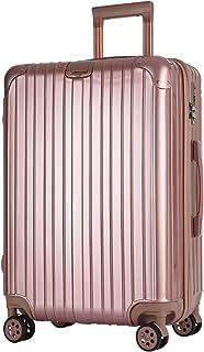 SAHASAHA スーツケース キャリーケース キャリーバッグ ファスナー式 アルミフレーム式 安心保証 機内持ち込みサイズから 傷が目立ちにくい TSAロック ハードキャリー ジッパー 人気色 全サイズ 有り