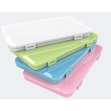 LLUOBING Lot de 4 boîtes de Rangement en Plastique résistant à la poussière et à la poussière