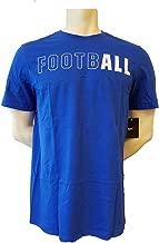 Nike Men's Football Athletic Cut Tee Shirt Black Blue Red White 902390
