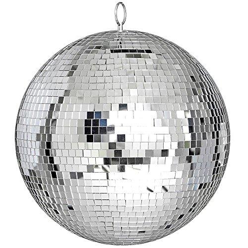 Yescom 12' Mirror Glass Ball Disco DJ Dance Decorative Stage Lighting Home Party Business Window Display Decoration