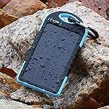 Levin Caricabatterie Pannello Solare 5000mAh Resistente alla Pioggia e...