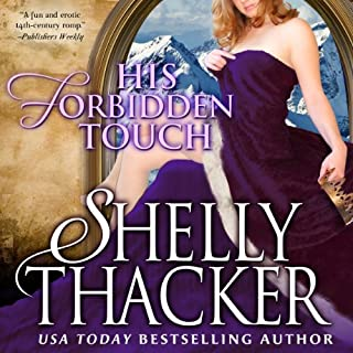 His Forbidden Touch audiobook cover art