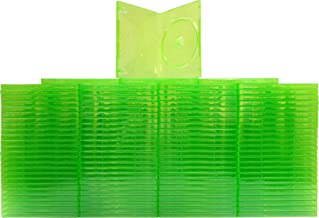 (100) Empty Standard XBOX 360 Translucent Green Replacement Games Boxes / Cases #VGBR14XBOX