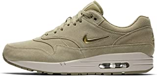 NIKEE Air Max 1 Premium SC Mens Running Shoes Size 12 Neutral Olive/Metallic Gold