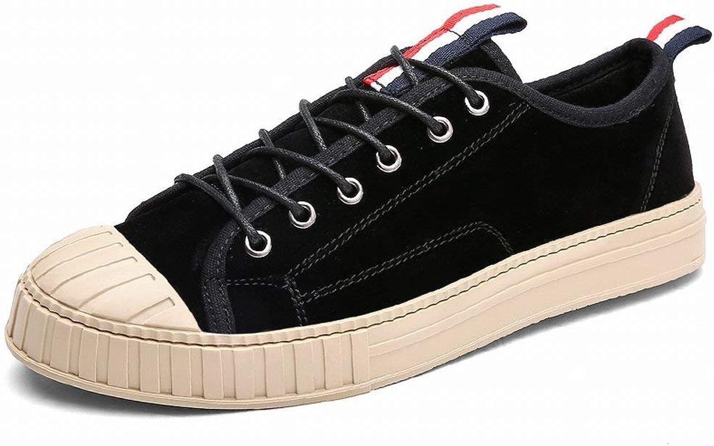 Modetrender för skor komfort Alla -Matchande tillfälliga tillfälliga tillfälliga skor Icke -Slipbara Männskor (färg  svart, storlek  41)  unik design