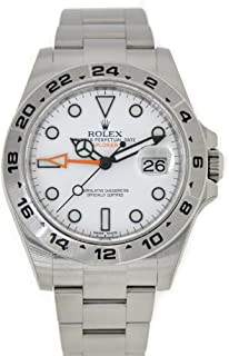 Explorer II White Dial Stainless Steel Men's Watch 216570