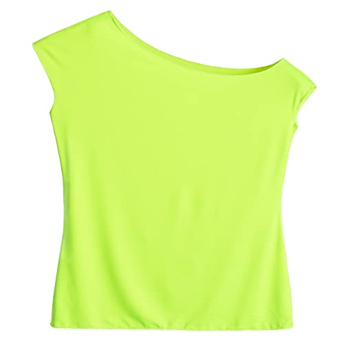 bfb3d439701e1 JustinCostume Women s 80 s T Shirt 1980 s Costume