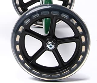 Knee Walker Universal 7.5 Inch Wheel with Non Marking Polyurethane - Replacement Part Fits Many Knee Scooters with 7.5