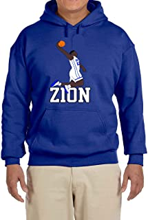 Tobin Clothing Blue Duke Zion Dunking Hooded Sweatshirt