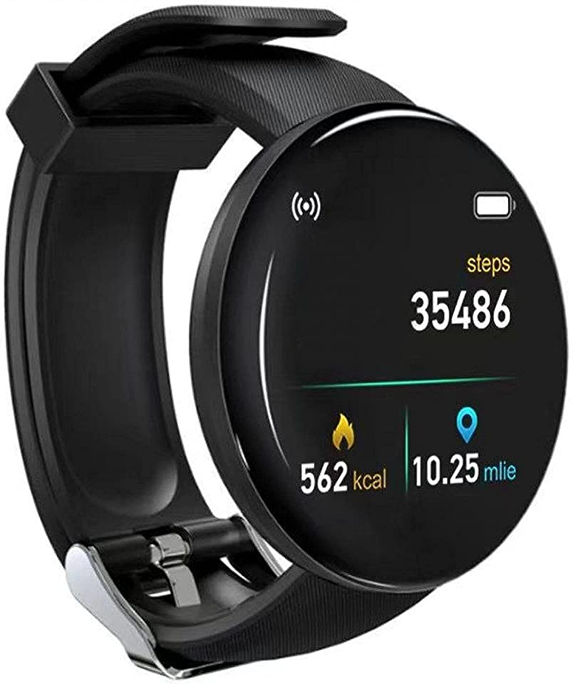 Smart Watch Fitness Watch for Men Woman Activity Tracker with Heart Rate Blood Pressure Monitor IP65 Waterproof Bluetooth Smartwatch Touch Screen Sports Watch for Android iOS Phones