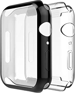 Simpeak [2 Packs] Soft TPU Case Compatible with Apple Watch SE Series 6 Series 5 Series 4 40mm, [All-Around] Full Protecto...