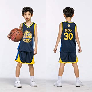 new product 59f6a 32ede BeKing Maillots Ensemble de Basket-Ball Enfants - NBA Bulls Jordan 23    Lakers