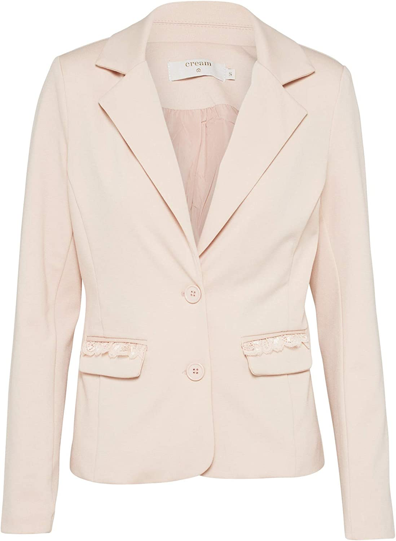Womens Anett Sporty Blazer Suit Jacket Cream /& Co