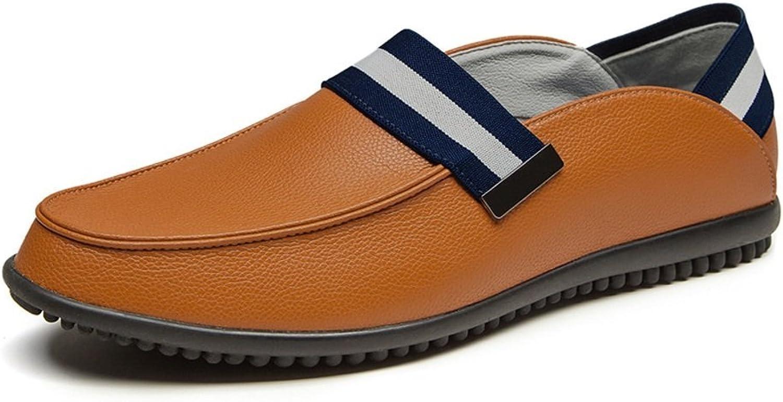 a318c436e4c78 Dig dog bone bone bone Men's Leather shoes Slip On Classic Upper ...