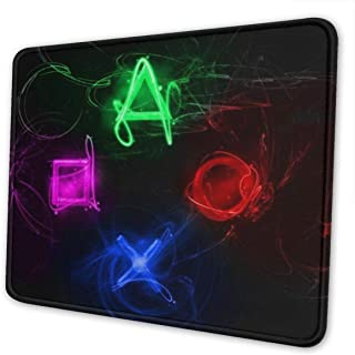 Mouse Pad Customized Abstract Playstation Buttons Non-Slip Rubber Mouse pad Gaming Mouse Pad for Computers Laptop PC Office