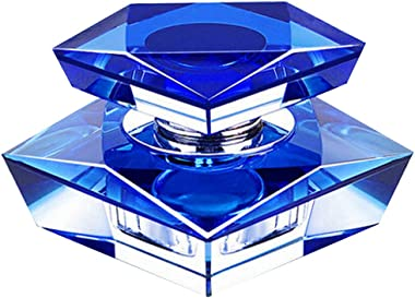 Car Perfume Crystal Car Air Freshener Perfume Bottle for Car Decoration [Blue] #01