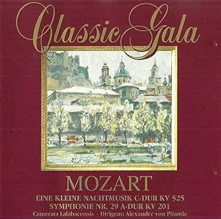 Mozart's kleine Nachtmusik C-Dur (CD Album Camerata Labacensis Alexander von Pitamic, 9 Tracks)
