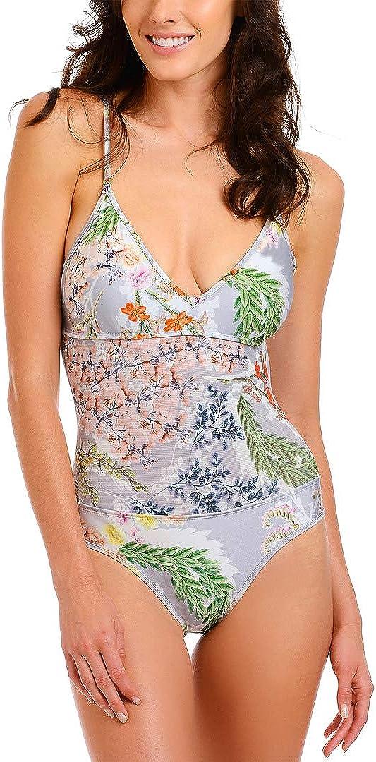 RACHEL Rachel Roy Rapid rise Max 61% OFF Women's Standard One Top with S Swimsuit Piece
