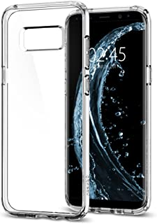 Capa  para Samsung Galaxy S8, Spigen, Ultra Hybrid, 565CS21631, Crystal Clear