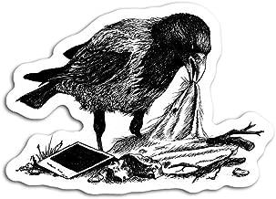 gordonstore Sticker Creature Animal Crows Nest Animals Fauna (3