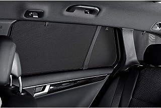 Car Shades FOR RANG 4 D Satz passend für Ford Ranger D/C T6 4 türer 2011 (4 teilig), Schwarz