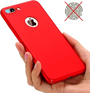 iBarbe Clear case for iPhone 7/8 Plus,Matte Finish Ultra Thin & Light Slim Fit Hard Shell Solid PC Back Cover Coat Shockproof Protective,Anti-Scratch for iPhone 7/8 Plus 5.5