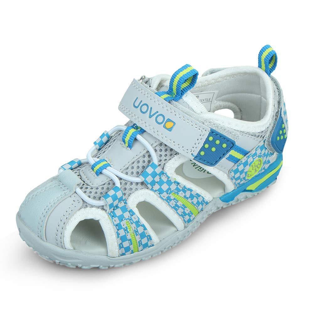 UOVO 优沃 中性童户外运动凉鞋包头护脚魔术贴沙滩鞋请参照图片中的尺码表选购