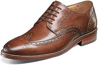 Florsheim Men's Salerno Wingtip Oxford Cognac Smooth 10 EEE US 3E
