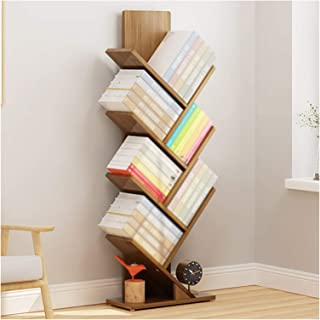 Bookshelves, Tree-shaped Floor-to-ceiling Office Shelves, Home Living Room Storage And Storage Cabinets, Solid Wood Load-b...