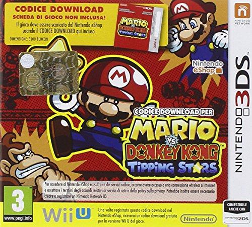 Nintendo Mario vs. Donkey Kong: Tipping Stars Nintendo 3DS Italiano vídeo - Juego (Nintendo 3DS, Rompecabezas, E (para todos))