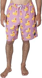 NEFF Mens Vintage Daily Hot Tub Shorts, Adult