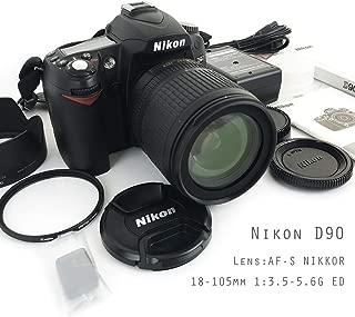 ニコン D90 デジタル 一眼レフ カメラ ボディ DX レンズ セット AF-S NIKKOR 18-105mm 1:3.5-5.6G