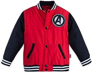 Boys Avengers Varsity Jacket Red
