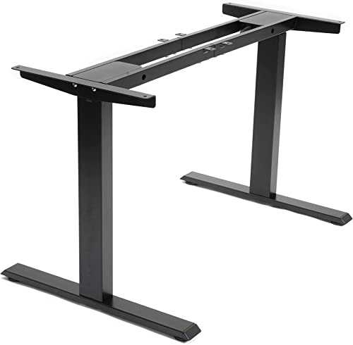 wholesale Yoogu lowest Electric Dual Motor Stand up Desk Frame - Height Adjustable Standing Desk Base with 3 Memory Controller for Home and outlet sale Office sale