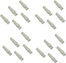 AERZETIX: 20 x Bombillas LED de salpicadero 12V T5 Luz blanco C1846