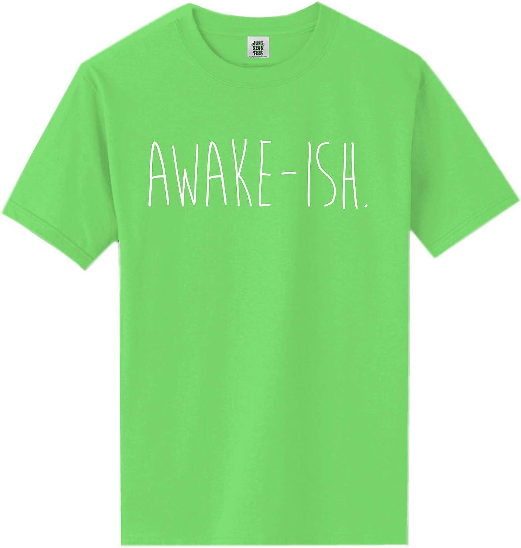 zerogravitee Awake-ish Short Sleeve Neon Tee