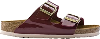 Unisex Arizona Birko-Flor Patent Sandals