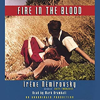 Fire in the Blood audiobook cover art