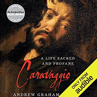 Caravaggio audiobook cover art
