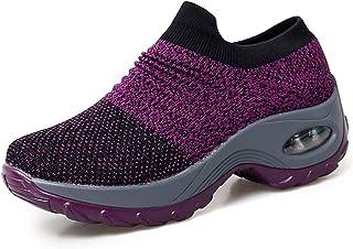 Scarpe da Corsa su Strada Donna Camminata Sportive Sneakers Running Outdoor Fitness Leggere Casual Air Traspiranti
